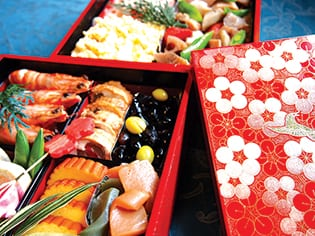 Celebrate the new year with osechi-ryori