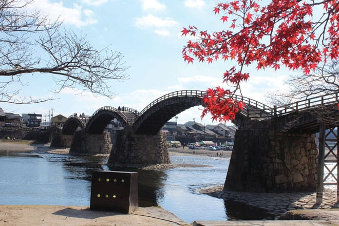 326web_Bridget-Peh--Japan's-most-beautiful-bridge-in-fiery-red-background