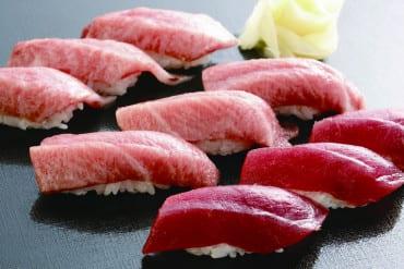 Sushi from Shimizu Sushi Museum