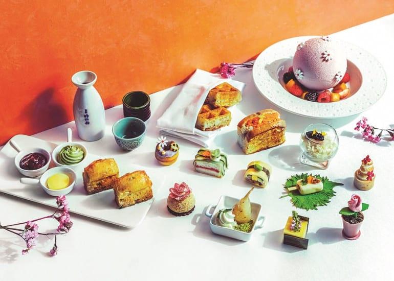 Marina Mandarin Japanese Floral High Tea (1)